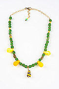 Green Fulani Wedding Necklace