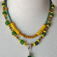 Nubian Sunrise Necklace