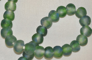 Recycled Glass Beads - Translucent